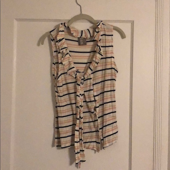 Anthropologie Tops - Striped sleeveless top
